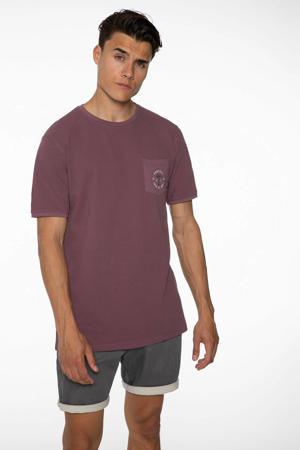 T-shirt Faz paars