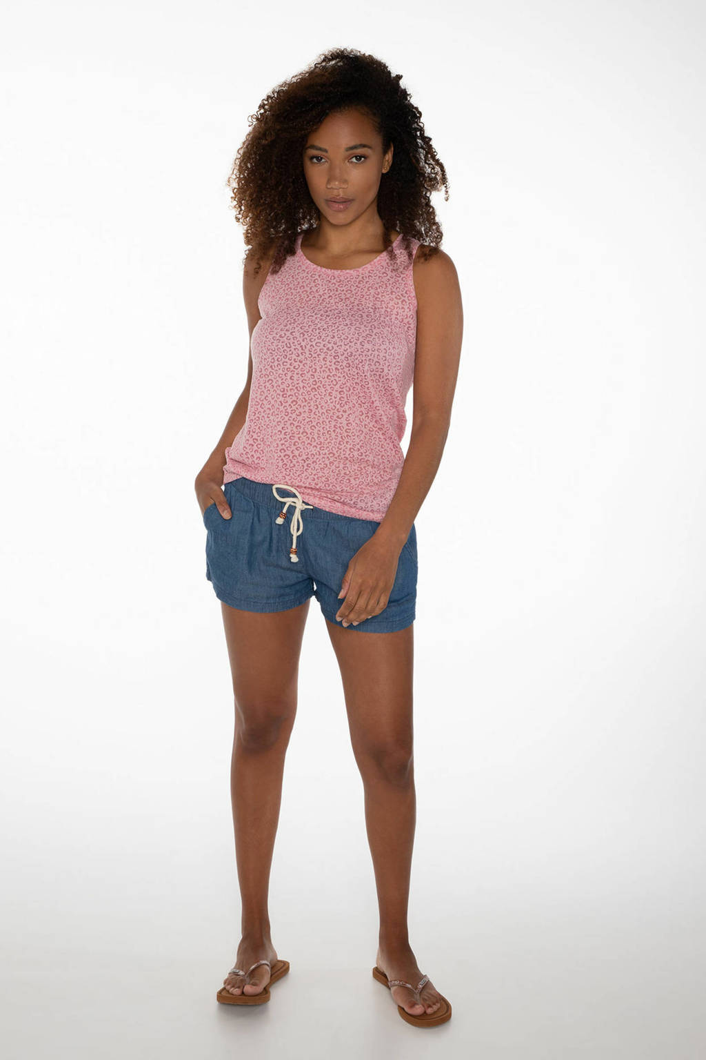 Protest jeans short Fountain            blauw, SKY DENIM