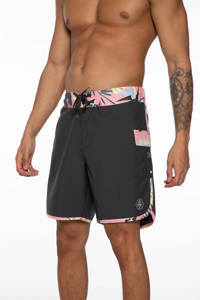 Protest boardshort Kenneth donkergrijs, Deep Grey