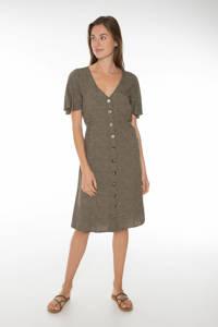 Protest jurk Faye groen, Just Leaf