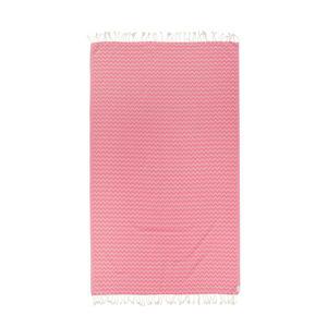 strandlaken Nelly roze (175x100 cm) Love Letter