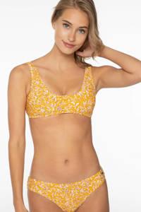 Protest gebloemde crop bikini Amelie geel, Sun Rays