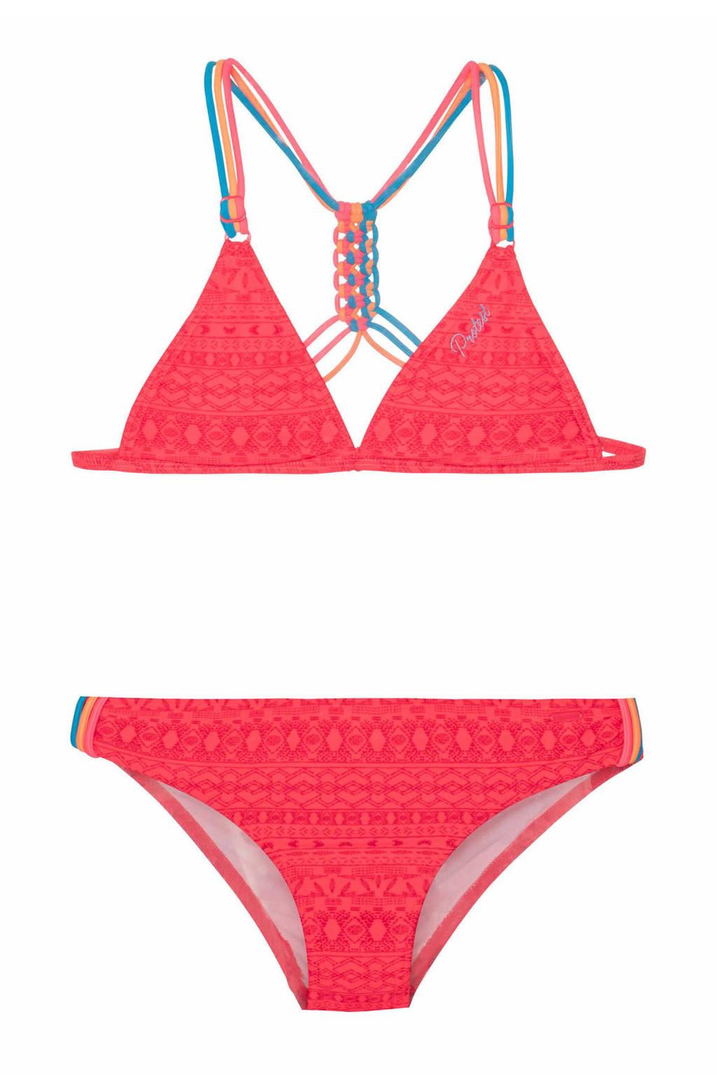 Protest triangel bikini Fimke roze, Grenadine