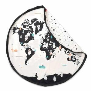 Worldmap opbergzak