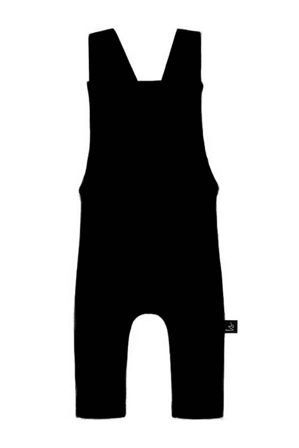Babystyling regular fit tuinbroek zwart, Zwart