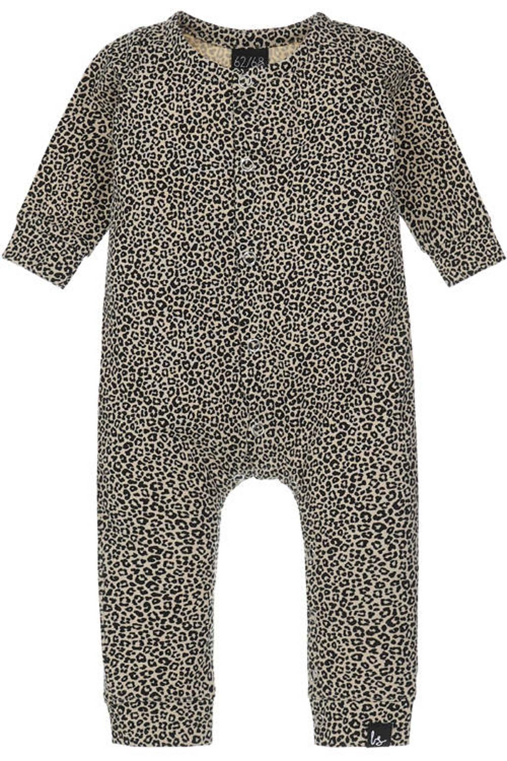 Babystyling baby boxpak met dierenprint beige/bruin, Beige/bruin