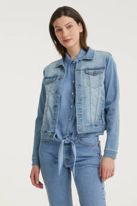 FREEQUENT spijkerjasje FQROCK-JA light blue denim, Light blue denim