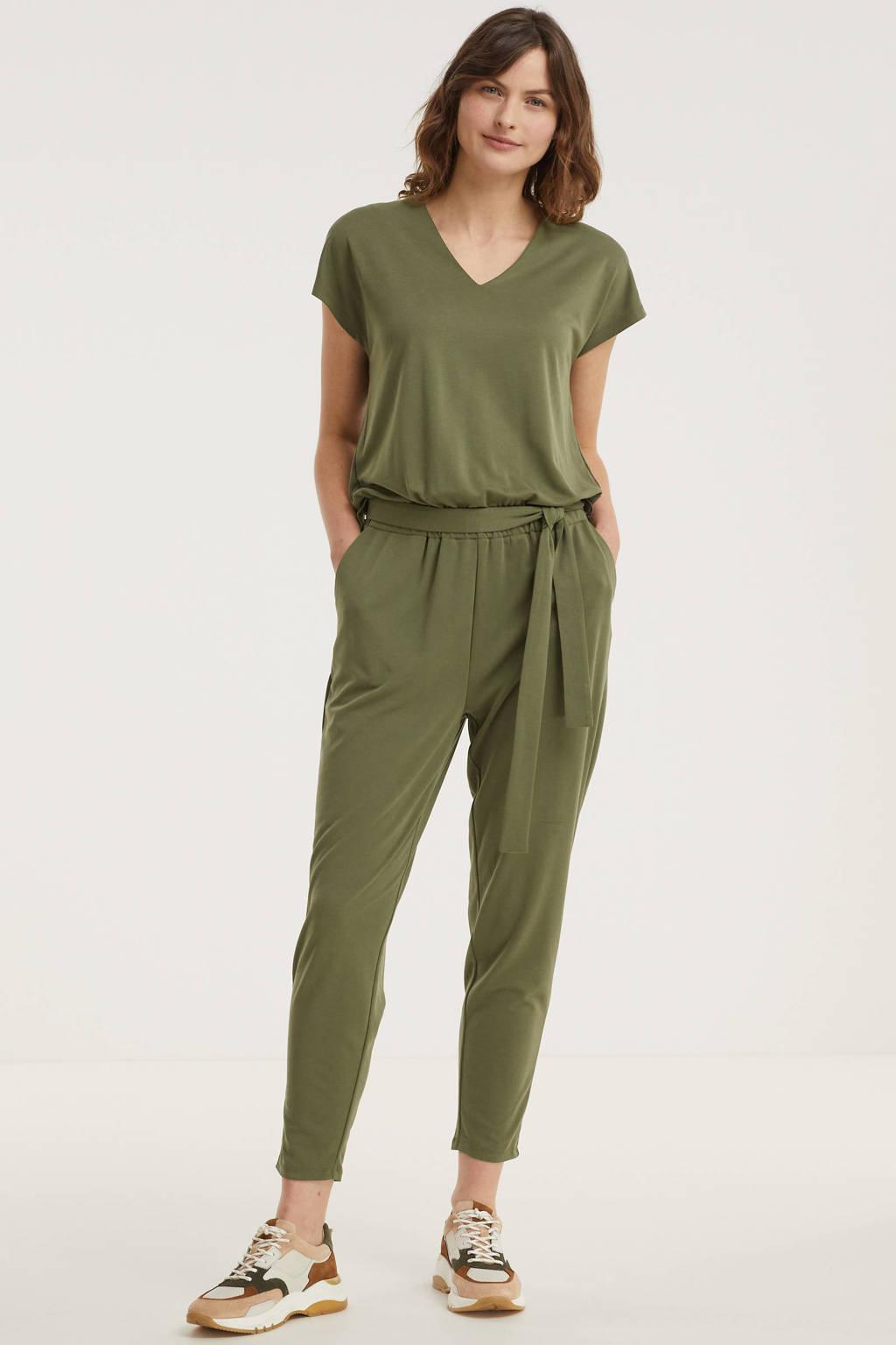 FREEQUENT jumpsuit FQYR-JU groen, Groen