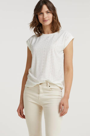 top FQBLOND-TEE wit