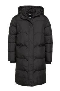Shoeby Jill & Mitch gewatteerde winterjas Travel zwart, Zwart