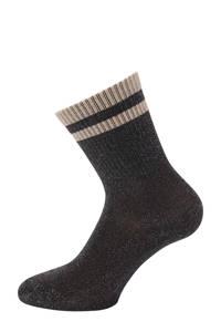 Pinned by K lurex sokken zwart, Zwart