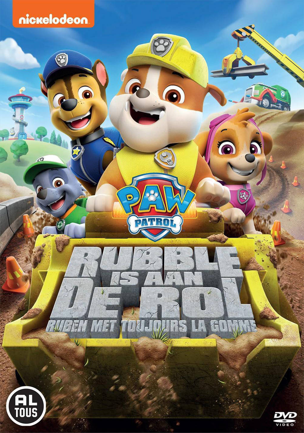 Paw Patrol - Rubble Is Aan De Rol (DVD)