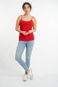MS Mode singlet rood, Rood
