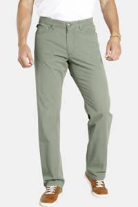Jan Vanderstorm loose fit broek TJORE Plus Size groen, Groen