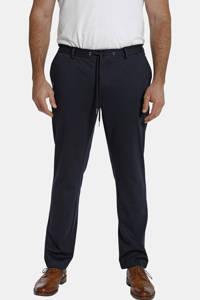 Charles Colby loose fit broek Duke BERNARD Plus Size donkerblauw, Donkerblauw
