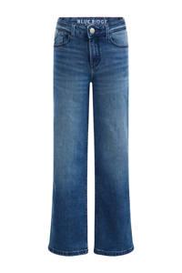 WE Fashion Blue Ridge wide leg jeans indigo, Indigo