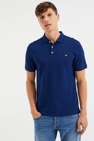 slim fit shirt blue depth