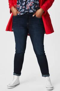 C&A XL The Denim slim fit jeans donkerblauw, Donkerblauw