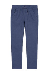 C&A smart with style slim fit broek blauw, Blauw