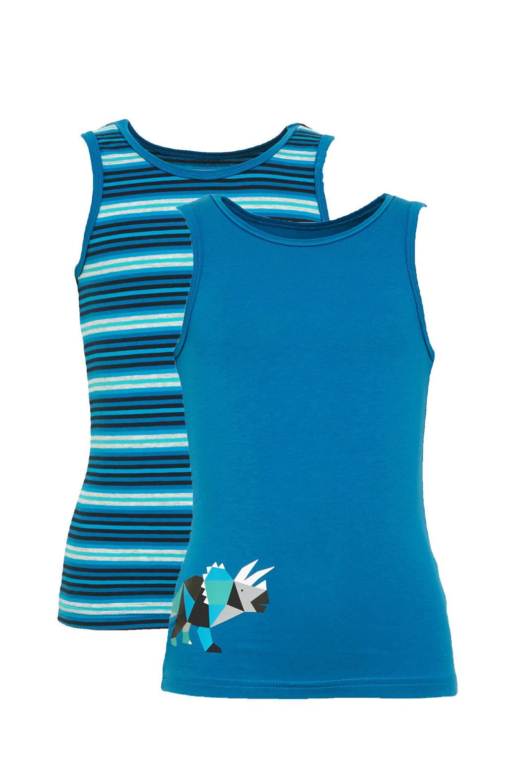C&A Palomino hemd - set van 2 blauw, Blauw