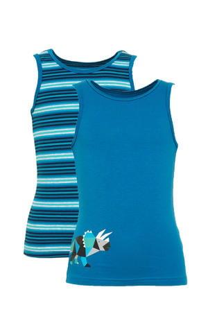 hemd - set van 2 blauw