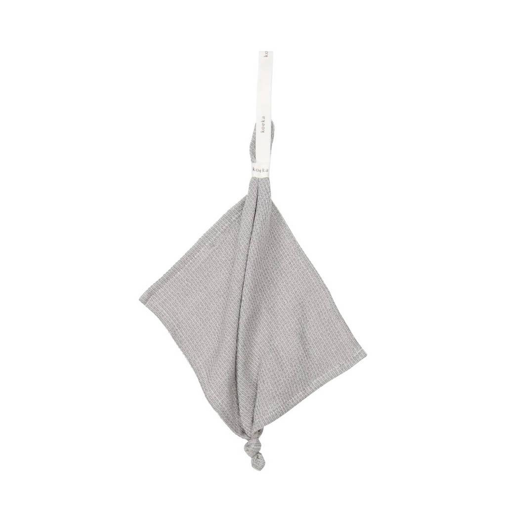Koeka Cairo speendoekje Steel Grey, Steel grey