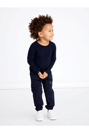 regular fit broek Bob donkerblauw