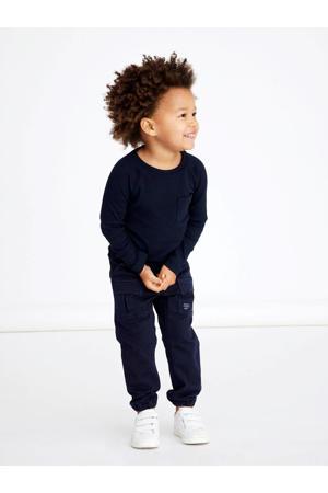 regular fit broek NMMBOB donkerblauw