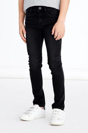 skinny jeans NKMPETE zwart