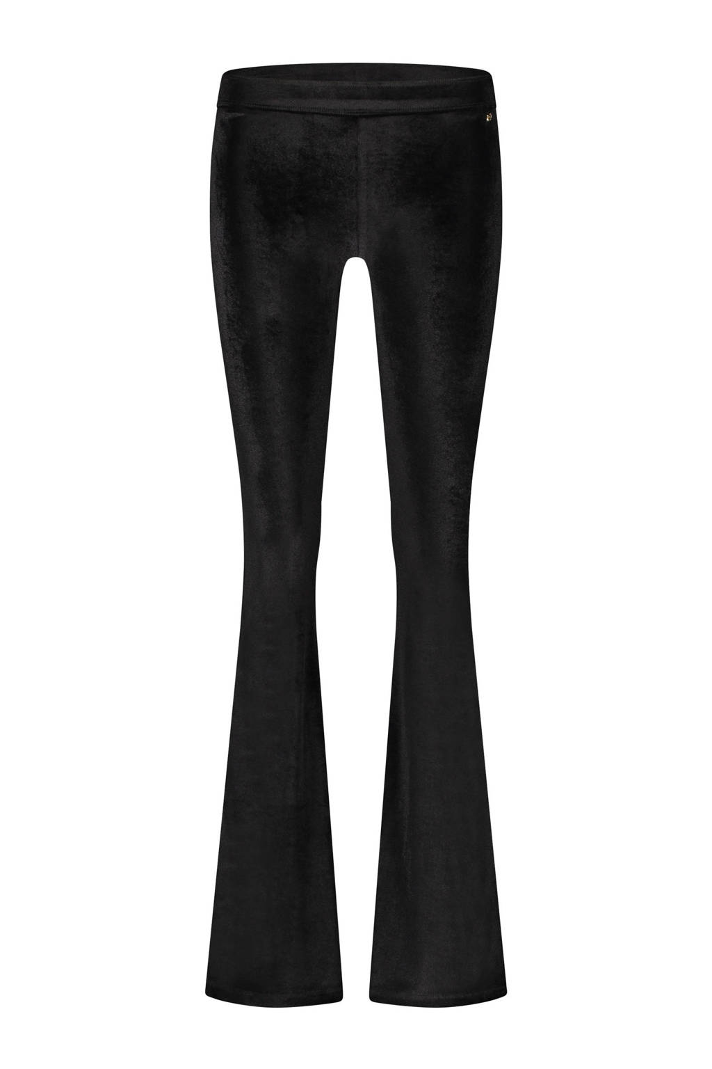 LaDress fluwelen legging Brooklyn zwart, Zwart