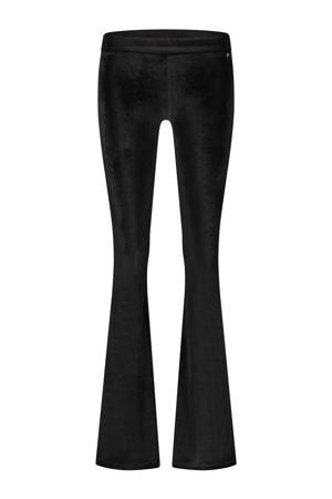 fluwelen legging Brooklyn zwart