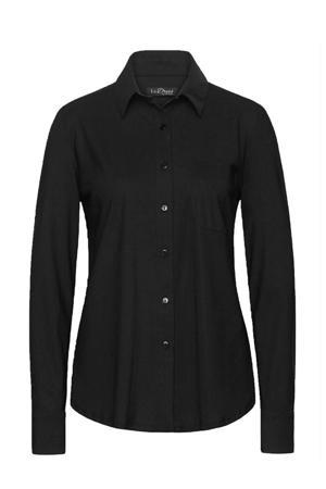 blouse Annie van travelstof zwart
