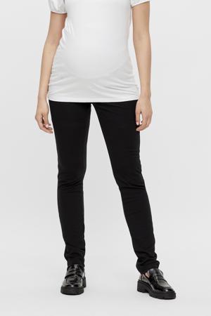 slim fit zwangerschapstregging MLALBA van gerecycled polyester zwart