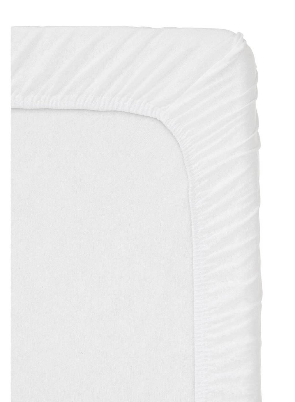 HEMA jersey hoeslaken  wit, Wit