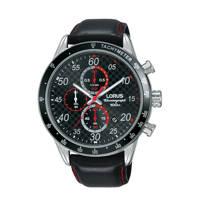 Lorus horloge RM339EX9, zwart/zilverkleurig