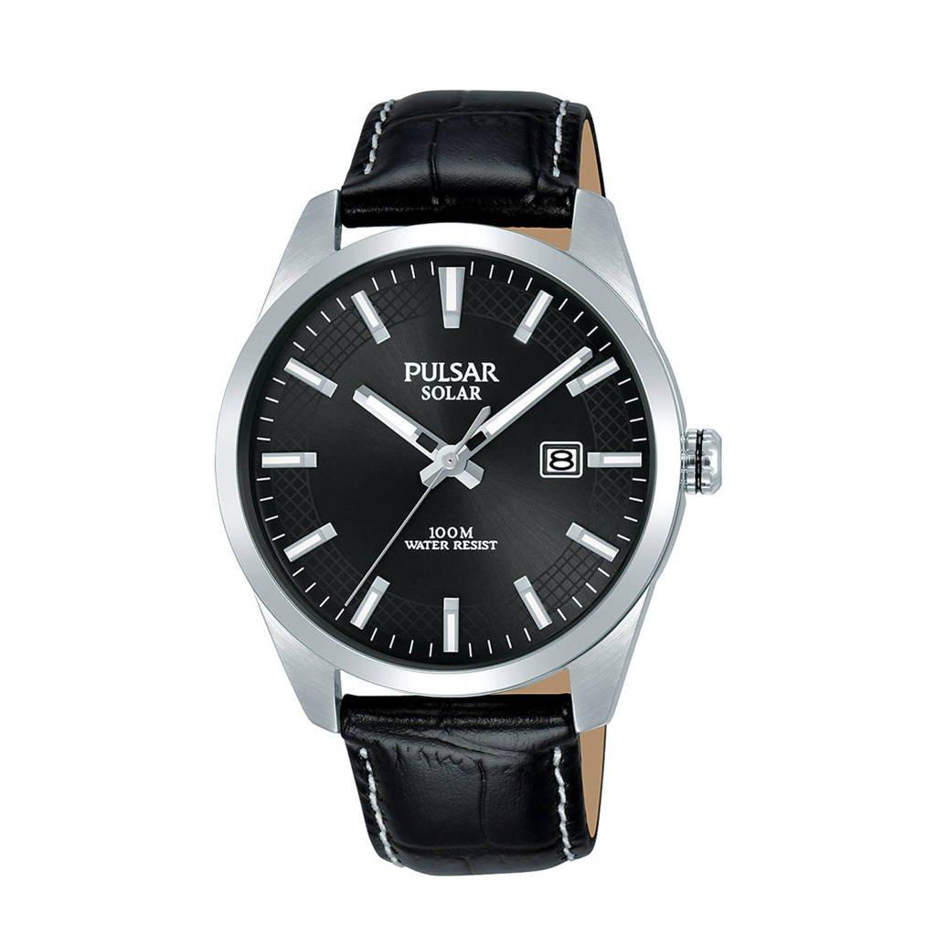 Pulsar horloge PX3185X1, zwart/zilverkleurig