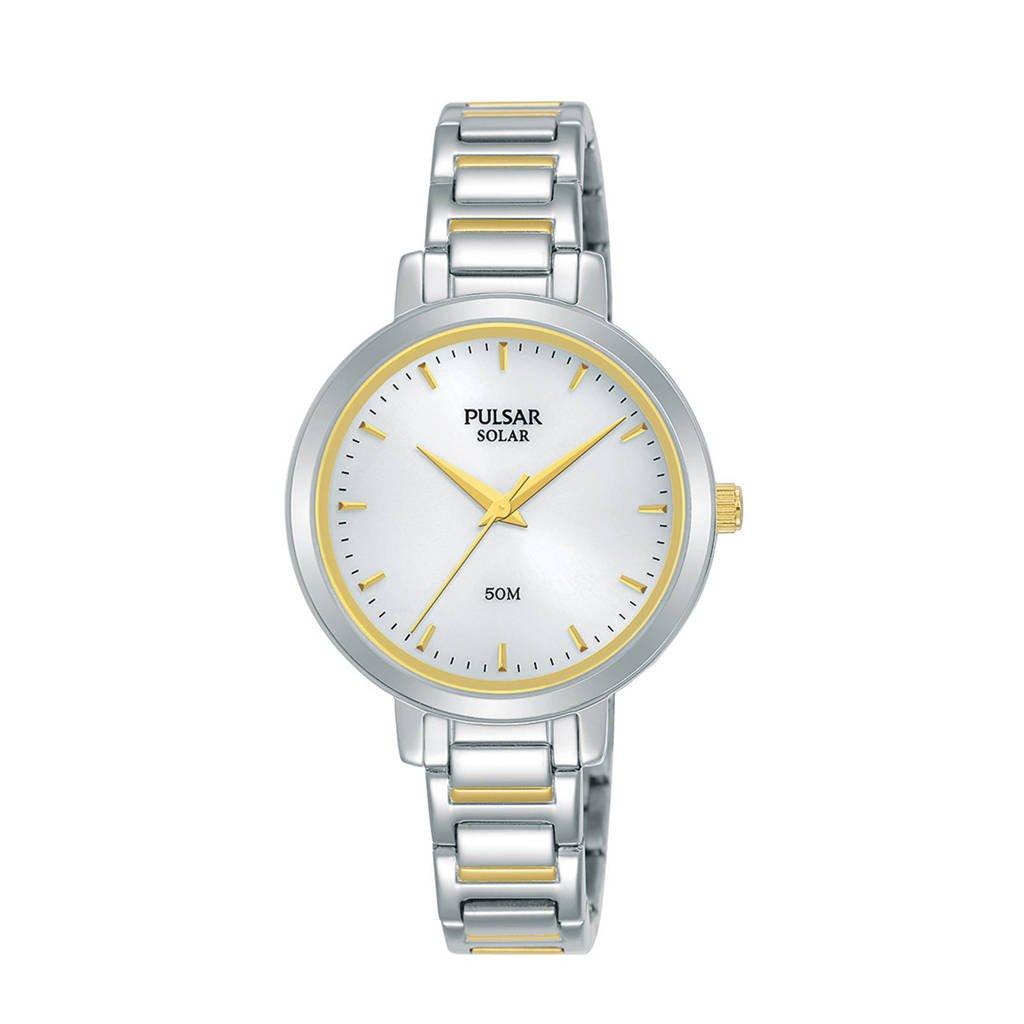 Pulsar horloge PY5073X1, Goud/zilverkleurig