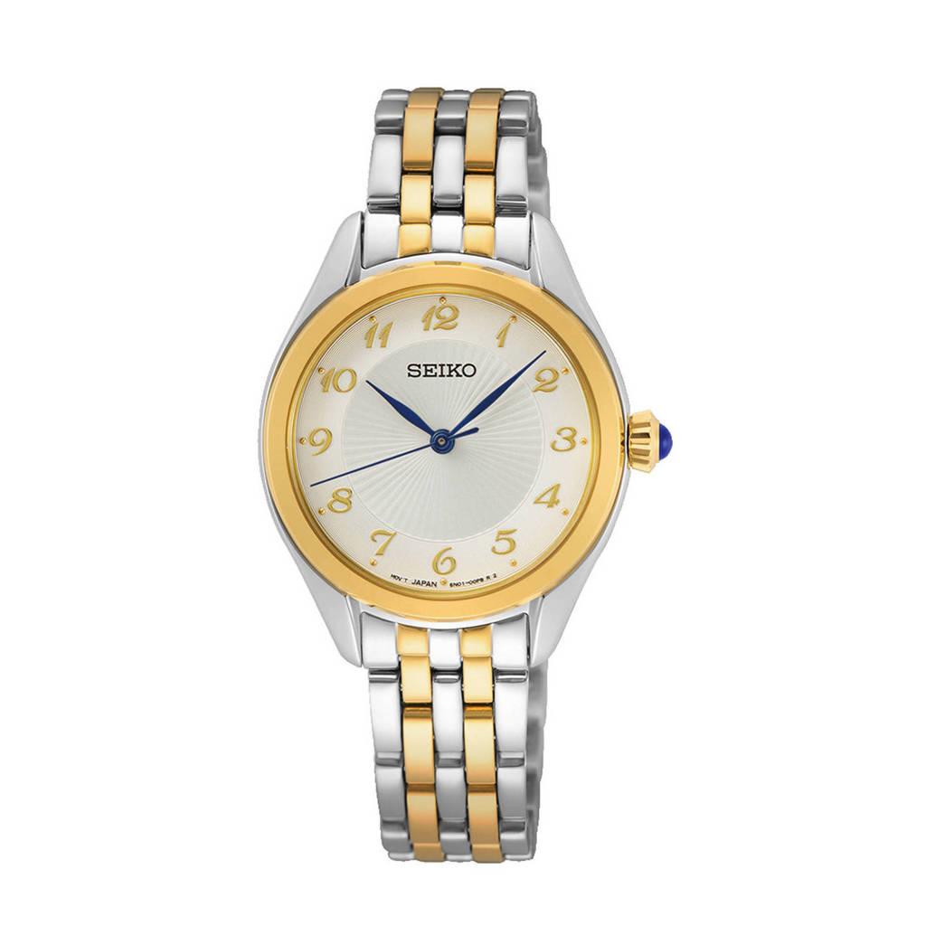 Seiko horloge SUR380P1, Tweekleurig