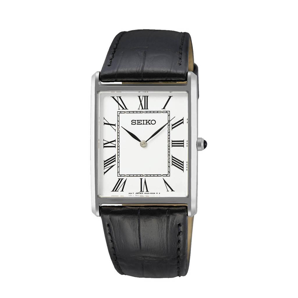 Seiko horloge SWR049P1, Zwart