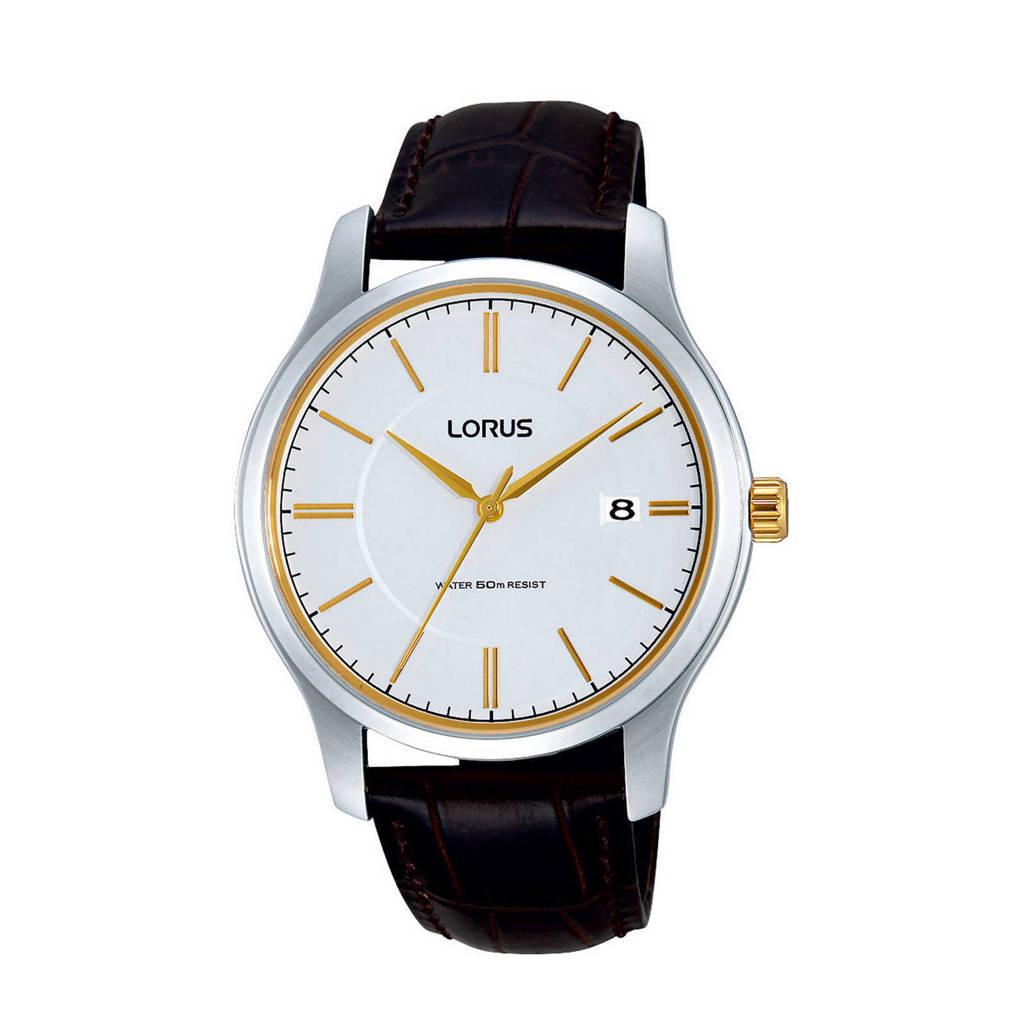 Lorus horloge RS967BX9, Bruin/tweekleurig