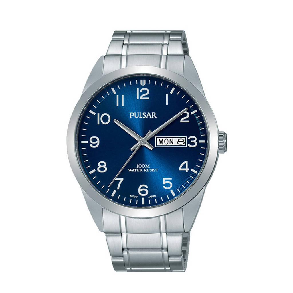 Pulsar horloge PJ6061X1, Zilverkleurig