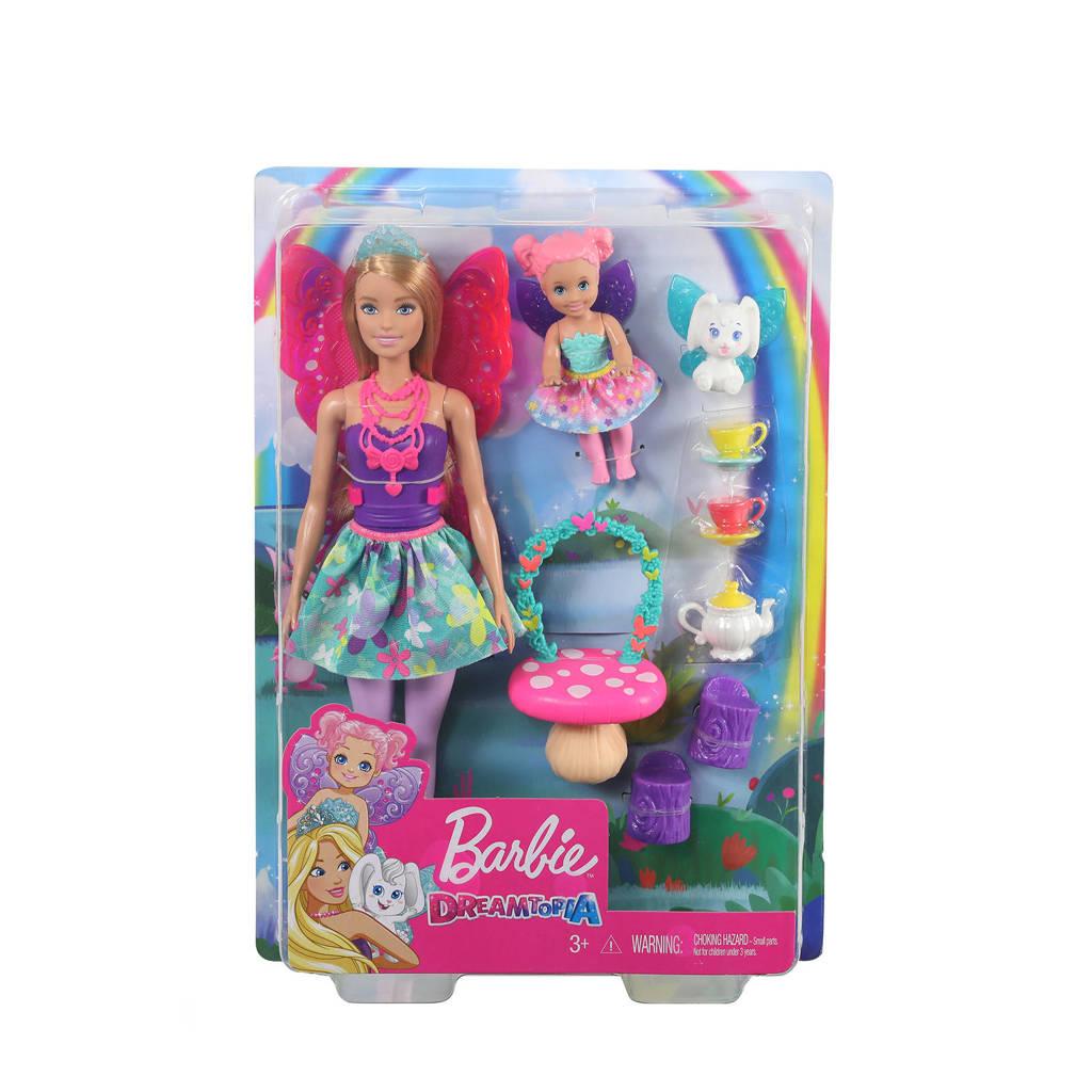 Barbie Fairytale Dreamtopia Speelset Fee Theekransje