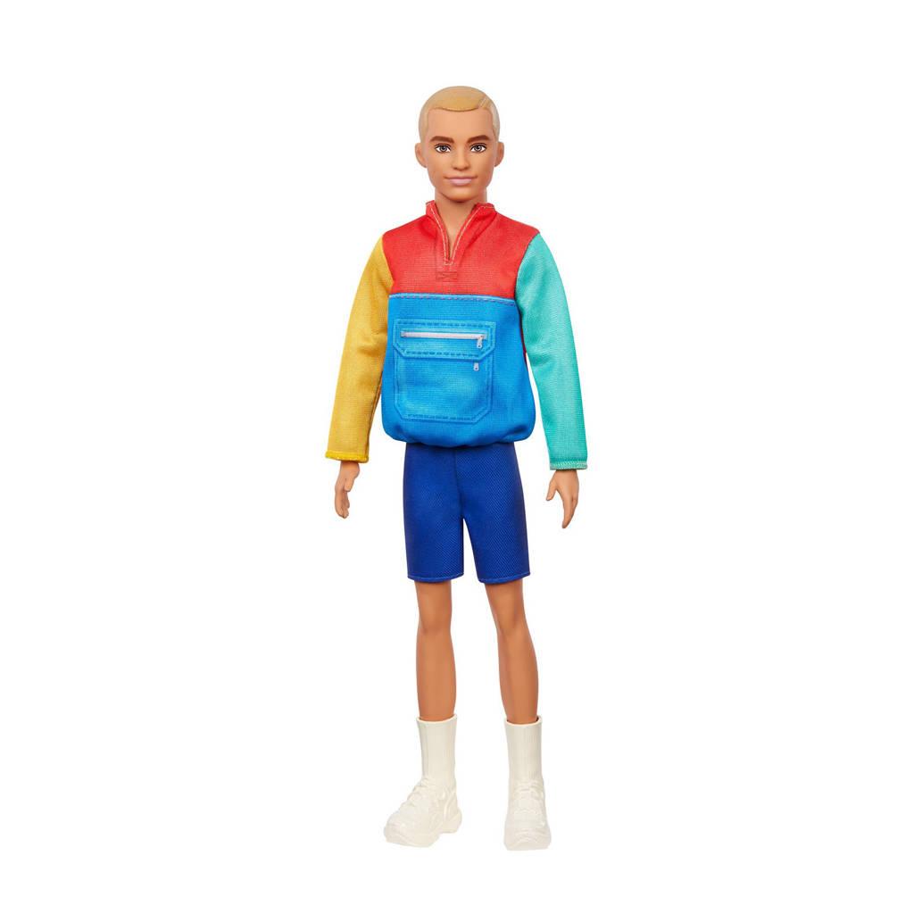 Barbie Fashion en Beauty Ken Fashionistas gekleurd jasje & shorts