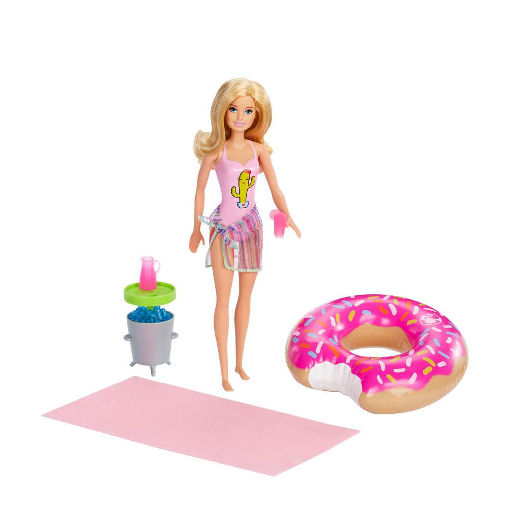 Barbie Fashion en Beauty Barbie Zwembadfeestje blond