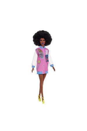 Barbie Fashionista Doll jasje met letters