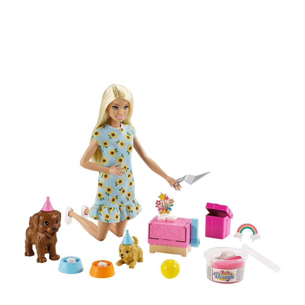 Barbie Family Puppy Feestje Blond