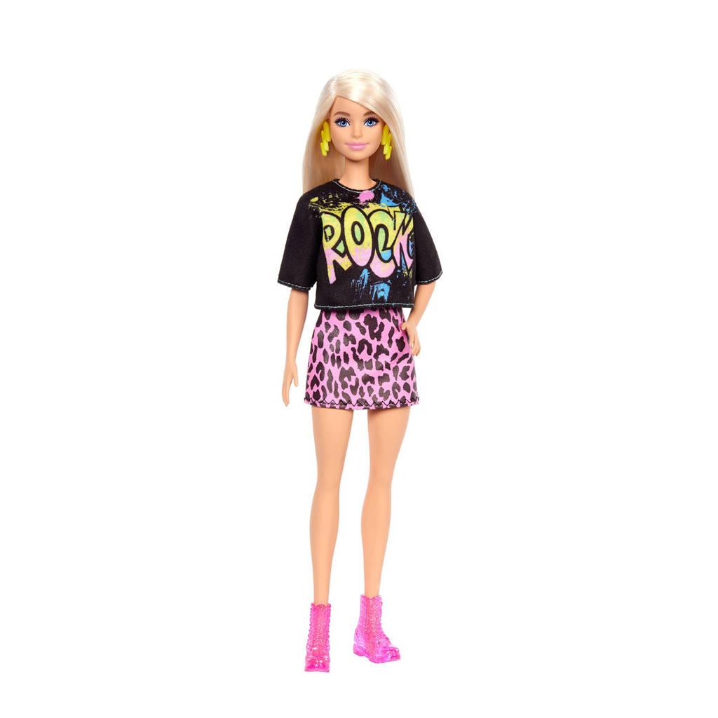 Barbie Fashion en Beauty Barbie Fashionista Doll Rock shirtje & rokje