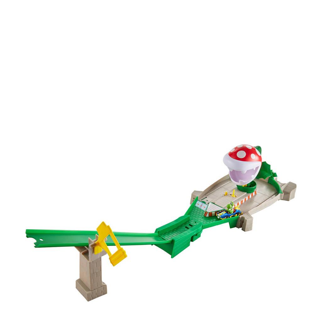 Hot Wheels  Mario Kart Nemesis Track Set - Piranha