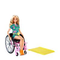 Barbie Fashion en Beauty Barbie Fashionista Rolstoel