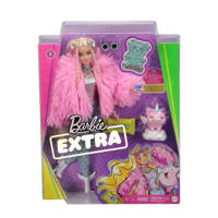 Barbie Extra Doll Fluffy Pink Jacket